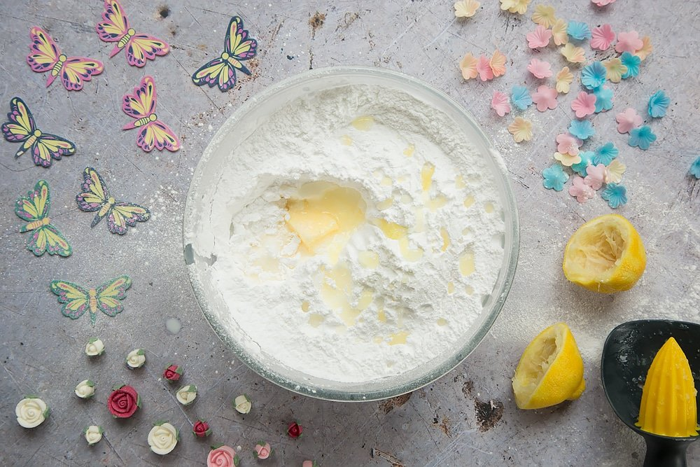 Continue mixing the ingredients to make your buttercream