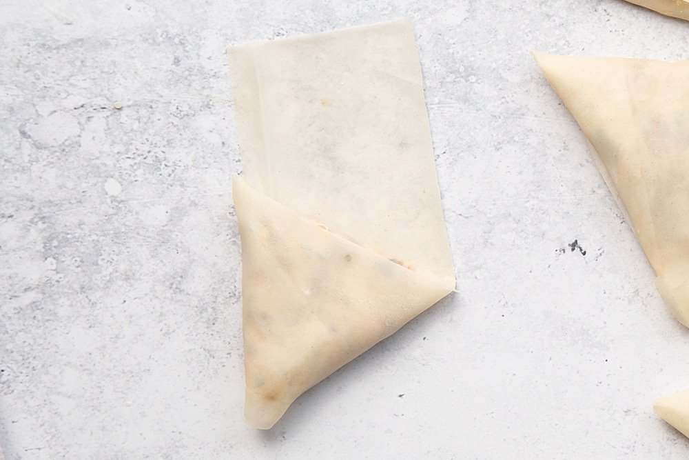 How to create olive and sun-dried tomato filo parcels