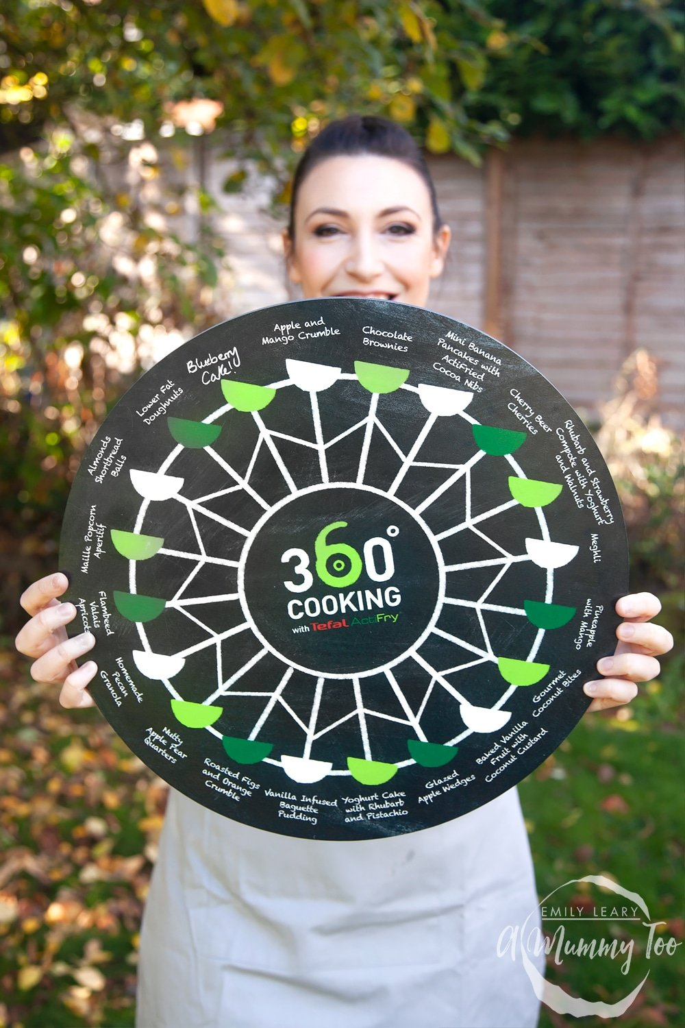 360 cooking blackboard