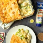 Cheesy leek and potato pie – quick, comforting and delicious