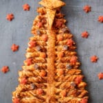 Spiced apple and cranberry pull-apart Christmas tree (no added sugar)