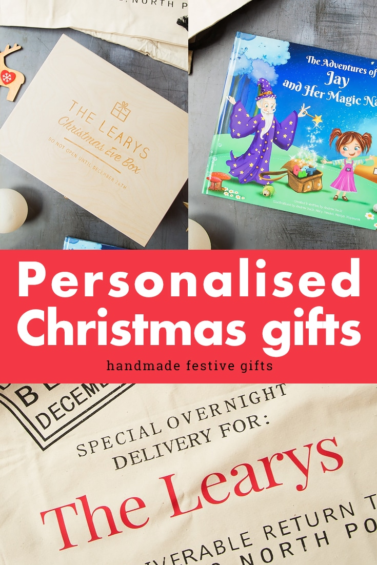 Personalised Gift Ideas To Order This Christmas From Amazon Handmade A Mummy Too