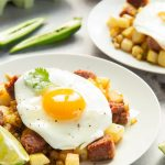 Curried corned beef hash