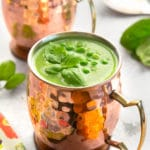 Easy fresh green soup (inspired by the Clangers Soup Dragon!)