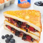 French Toast PB & Jelly (peanut butter and jelly sandwich)