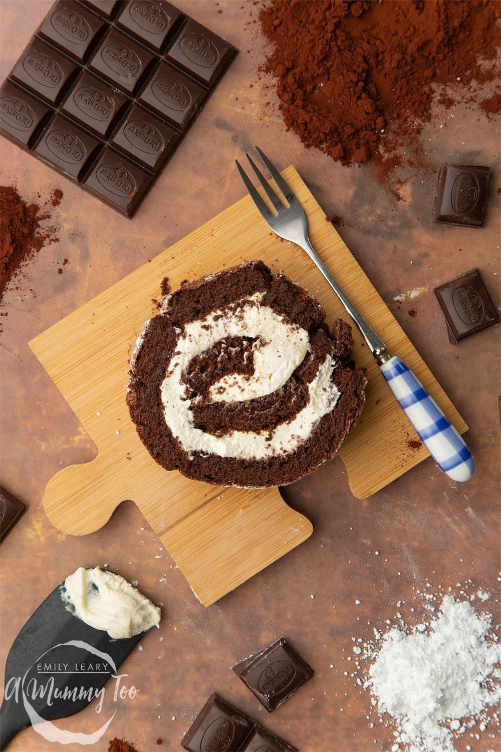 Mary Berry's Chocolate Roulade (no flour, Great British Bake