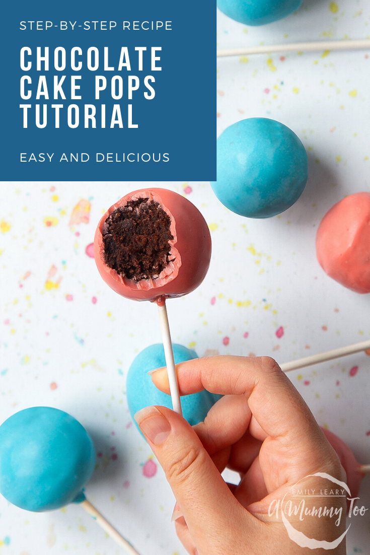 Easy And Delicious Chocolate Cake Pops Recipe A Mummy Too