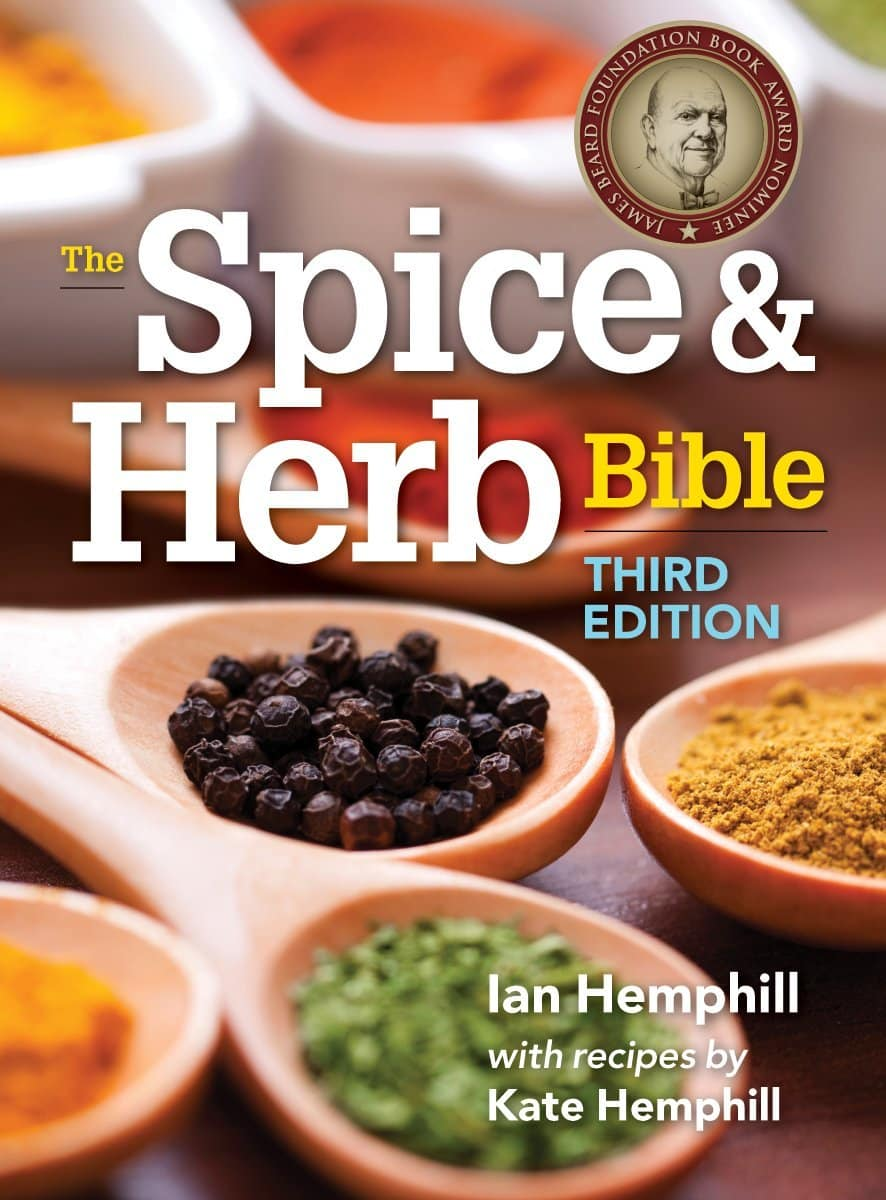 Front Book Cover Photo of The Spice & Herb Bible (3rd edition) by Ian Hemphill