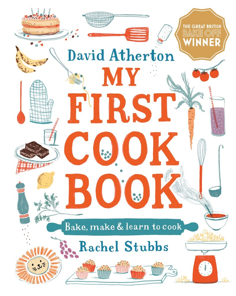 Book cover - My First Cook Book.